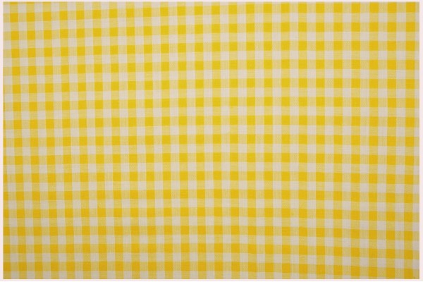 Bawełna vichy 5 mm – yellow