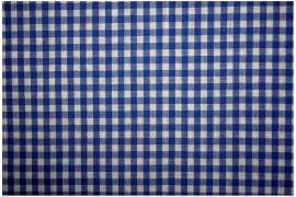 Bawełna vichy 5 mm – royal