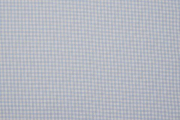 Bawełna vichy 3 mm – light blue