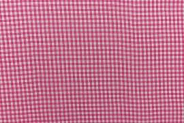 Bawełna vichy 3 mm – fuchsia