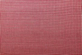 Bawełna vichy 3 mm – red
