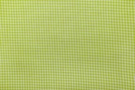Bawełna vichy 3 mm – lime