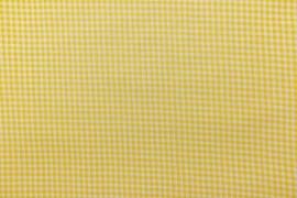 Bawełna vichy 3 mm – yellow