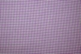 Bawełna vichy 3 mm – lilac