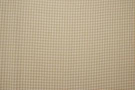 Bawełna vichy 3 mm – sand