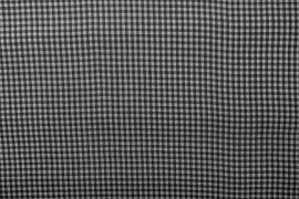 Bawełna vichy 3 mm – black