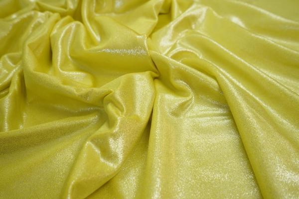Lycra folia w kolorze żółtym