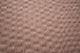 Bawełna drukowana - bordowe kółeczka