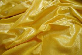Lycra folia w kolorze złotym