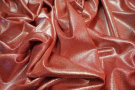 Lycra folia w kolorze czerwonym