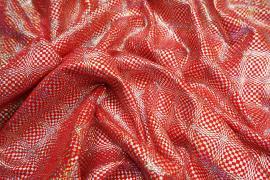 Lycra hologram - kolor czerwony