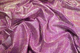 Lycra hologram - kolor fioletowy