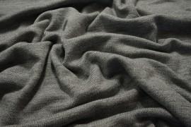 Dzianina swetrowa - jasnoszary melanż