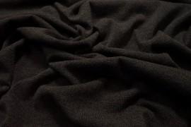 Dzianina swetrowa - ciemnobrązowy melanż