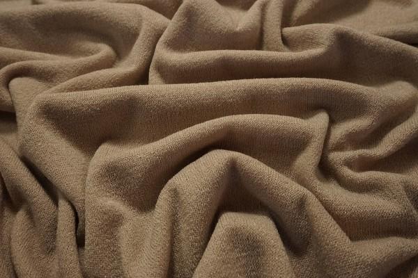 Dzianina swetrowa - beżowa