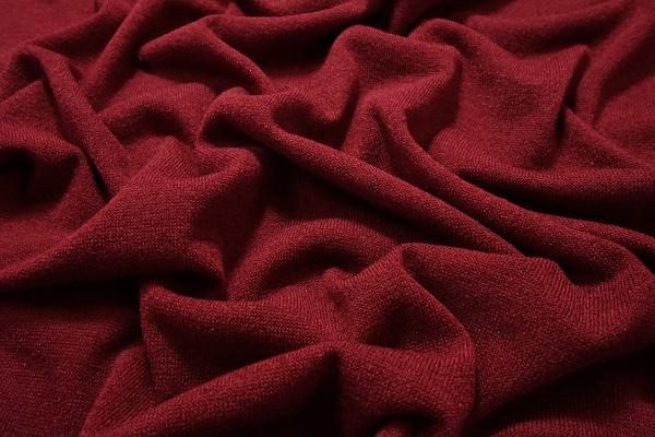 Dzianina swetrowa - malinowa
