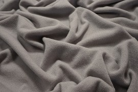 Dzianina swetrowa - jasnoszara