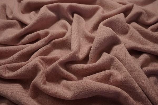 Dzianina swetrowa - pudrowy róż