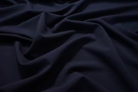 Tkanina sukienkowa z lycrą - kolor granatowy
