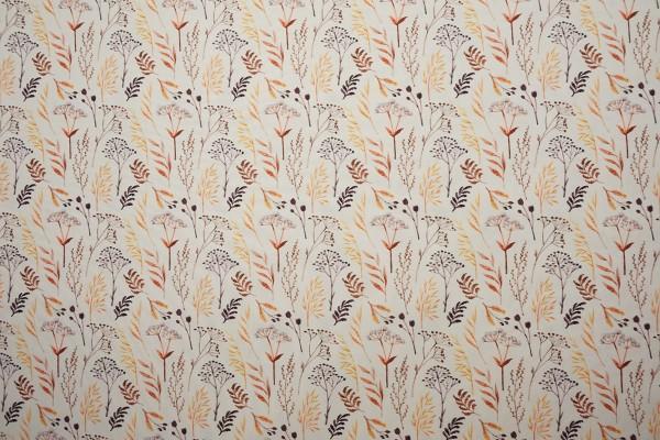 Tkanina sukienkowa - jesienna trawa