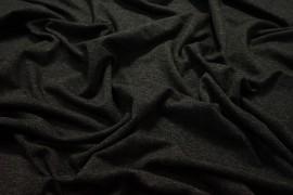 Dzianina wiskozowa - ciemnoszary melanż