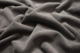 Tkanina obiciowa z meszkiem w kolorze szarym