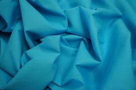 Bawełna popelina w kolorze turkusowym