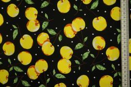 Bawełna z lycrą - owoce