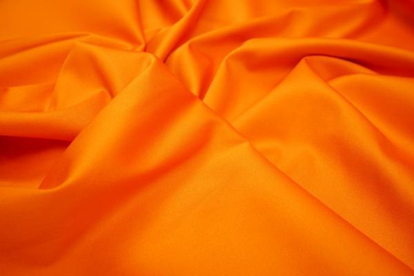 Bawełna z lycrą - intensywna pomarańcza