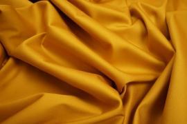 Bawełna z lycrą w kolorze musztardowym