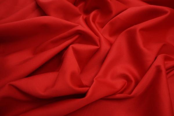 Bawełna z lycrą - czerwony