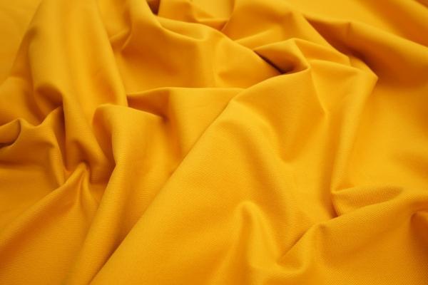 Bawełna z lycrą - kolor musztardowy