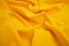 Bawełna gładka w żółtym kolorze