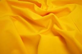 Gładka bawełna w żółtym kolorze