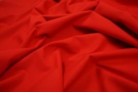 Bawełna gładka w czerwonym kolorze