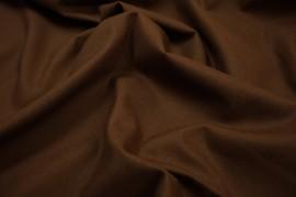 Bawełna gładka w kolorze czekoladowym