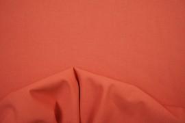 Bawełna gładka w kolorze koralowym