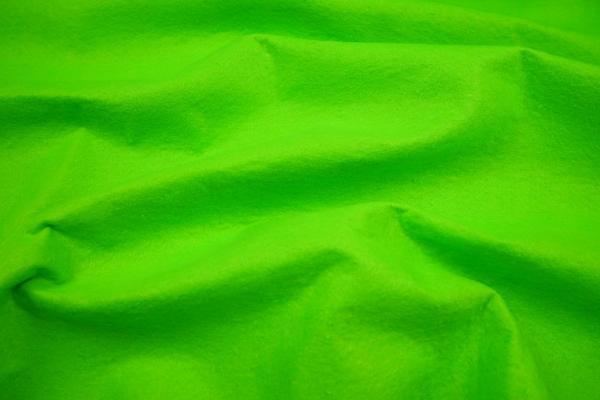 Filc w kolorze limonkowym o grubości 1,5 mm