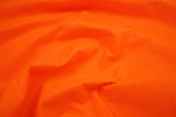 Filc w kolorze fluo pomarańczowym o grubości 1,5 mm