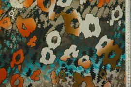 Tkanina szyfonowa - pastlowe wzory
