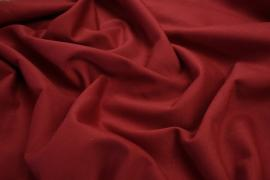 Bawełna twill o kolorze ciemnoczerwonym