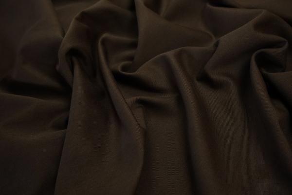 Bawełna twill w kolorze czekoladowym