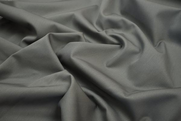 Bawełna drelich w kolorze szarym