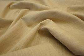 Tkanina lniana w kolorze beżowym