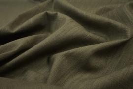 Tkanina lniana w odcieniu zieleni