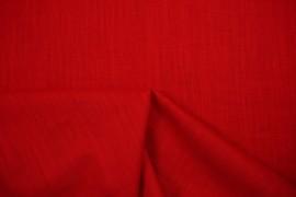 Tkanina lniana w kolorze czerwonym