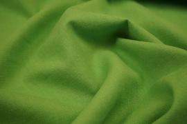 Tkanina lniana - kolor zielony