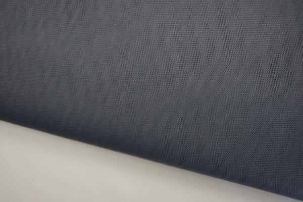 Tiul w kolorze ciemnoszarym