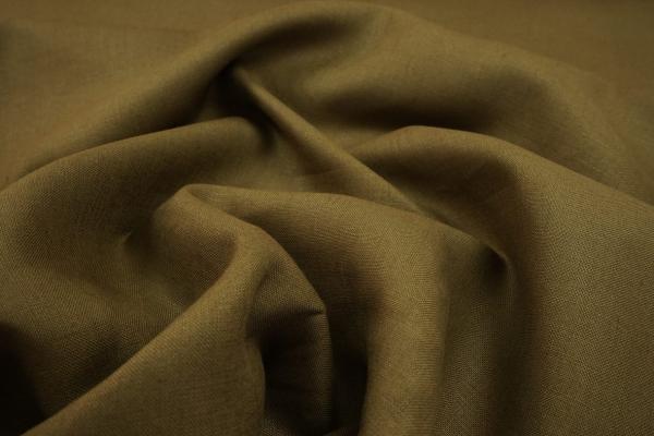 Len z wiskozą - zielono-brązowy odcień