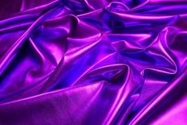 Lama gładka w kolorze fioletowym